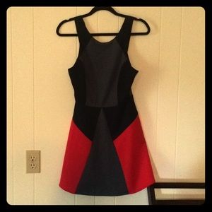 Buffalo by David Bitton black and red dress